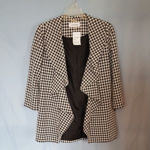 Calvin Klein Woman's Herringbone Jacket Sz 10